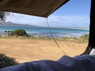 2020年11月 西オーストラリア西南部 ロードトリップ Day4 East Bay Campground