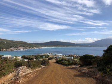 2020年11月 西オーストラリア西南部 ロードトリップ Day6 Betteys Beach Camp Ground